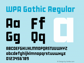 WPA Gothic