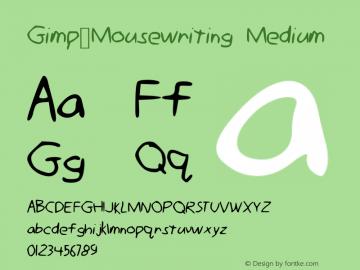 Gimp_Mousewriting