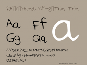 Rei_s_Handwriting_Thin