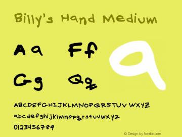 Billy's Hand