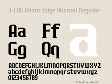 J-LOG Razor Edge Normal