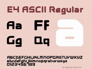 E4 ASCII