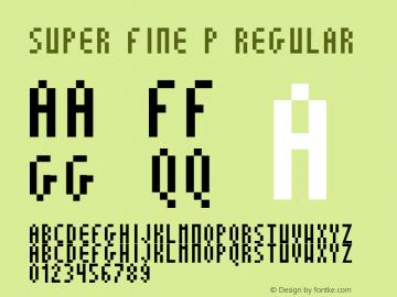 Super Fine P