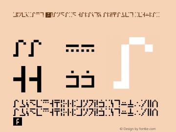 Minecraft - Standard Galactic Alphabet