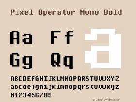 Pixel Operator Mono