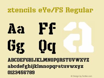 ztencils eYe/FS