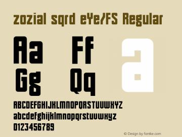 zozial sqrd eYe/FS