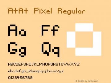 AtAt Pixel