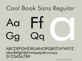 Cool Book Sans