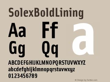 SolexBoldLining