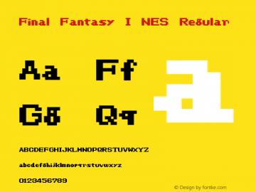 Final Fantasy I NES