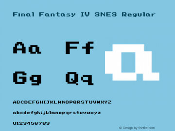 Final Fantasy IV SNES