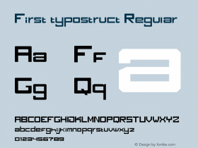 First typostruct