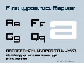 First typostruct