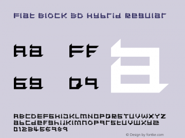 Flat Block 3D Hybrid