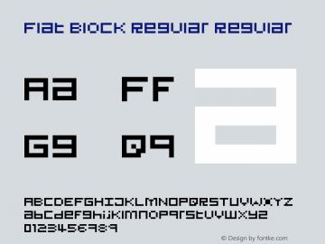 Flat Block Regular