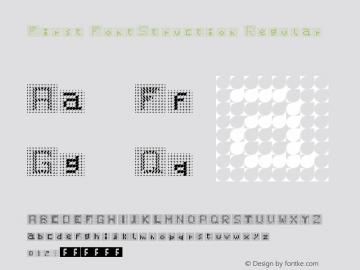 First FontStruction