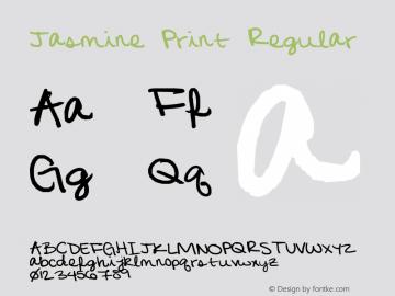 Jasmine Print