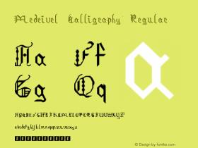 Medeivel Calligraphy