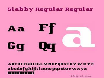 Slabby Regular
