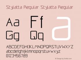 Stylatta Regular