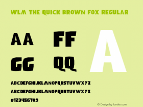 WLM The Quick Brown Fox