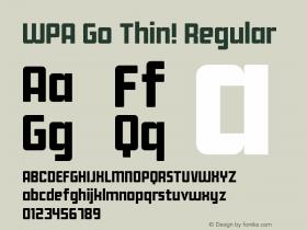 WPA Go Thin!