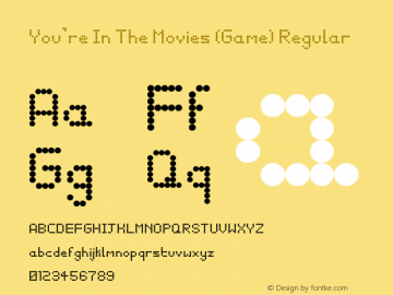 You're In The Movies (Game)