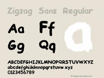 Zigzag Sans