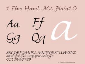 1 Fine Hand M2