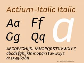 Actium-Italic
