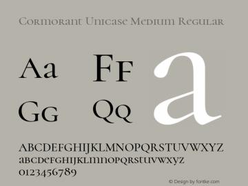 Cormorant Unicase Medium