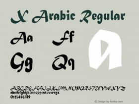 X Arabic