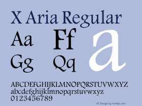 X Aria