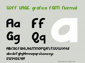 WFF LAGE gráfica FGM