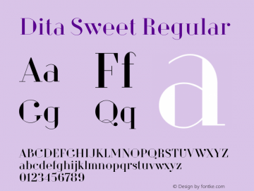 Dita Sweet
