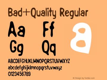 Bad+Quality