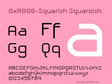 0xA000-Squarish