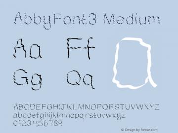 AbbyFont3