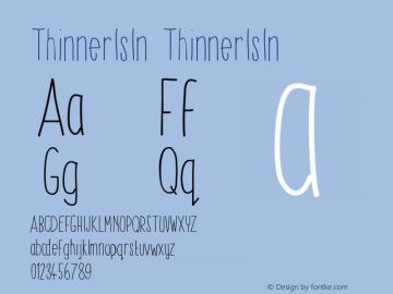 ThinnerIsIn