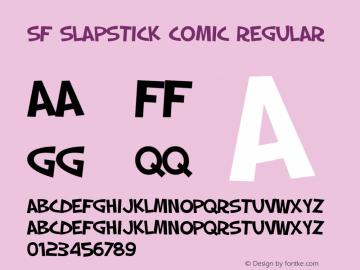 SF Slapstick Comic