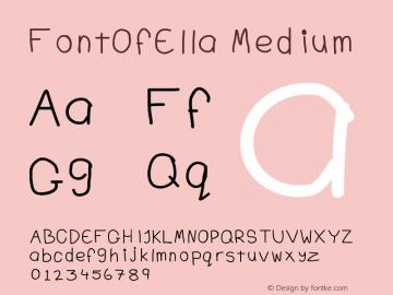 FontOfElla