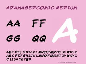 aDamagedComic
