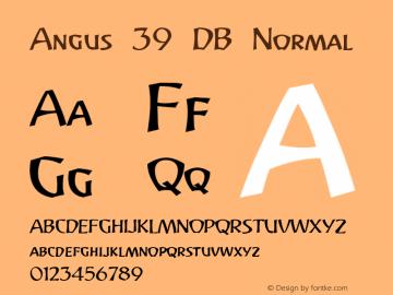 Angus 39 DB