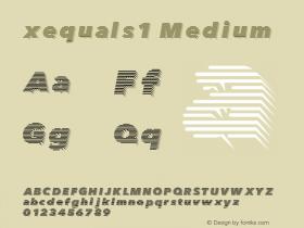 xequals1