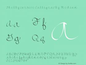 ShelbycursiveCalligraphy