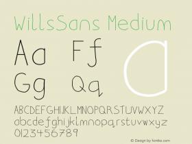 WillsSans