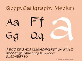 SloppyCalligraphy