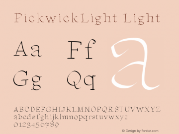PickwickLight