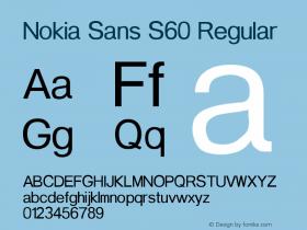Nokia Sans S60